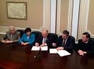 Подписание двустороннего соглашения о взаимодействии