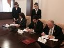 подписание Областного Трехстороннего соглашения по социально -трудовым отношениям на 2015-2017гг