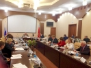 Заседание областного совета по задолженности выплаты заработной платы.  24.10.2017г